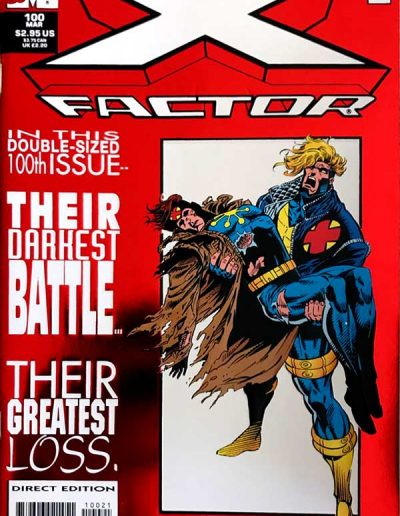 X-Factor #100 (Foil Variant) - March 1994