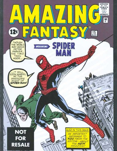 Amazing Fantasy #15 (Marvel Legends Reprint) - May 2005