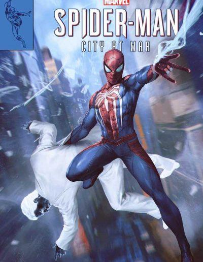 Spiderman: City at War #1 (Forbidden Planet Trade Dress Variant) - May 2019