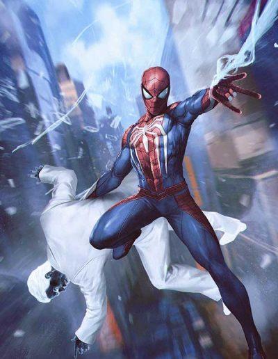 Spiderman: City at War #1 (Forbidden Planet Virgin Variant) - May 2019