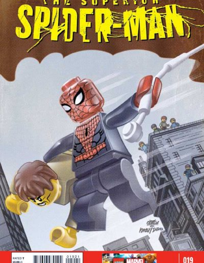 Superior Spiderman #19 (Lego Variant) - December 2013
