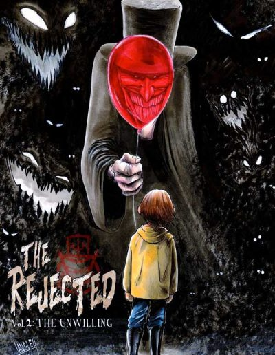 The Rejected: The Unwilling (Shawn Langley Variant) - May 2019