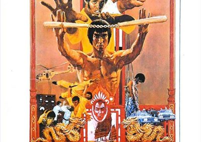 Enter the Dragon (Movie Poster) Homage Covers