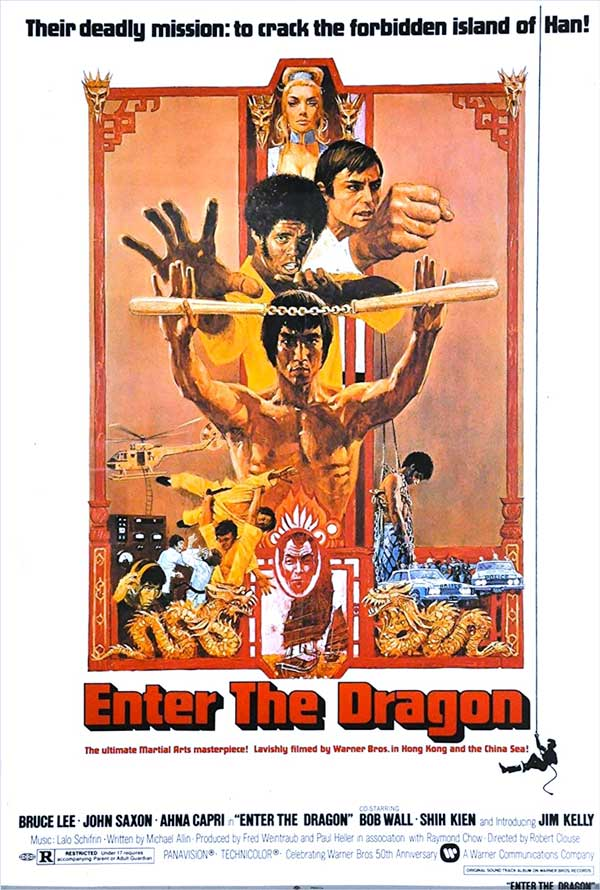 Enter the Dragon (Movie Poster) Bruce Lee 1973