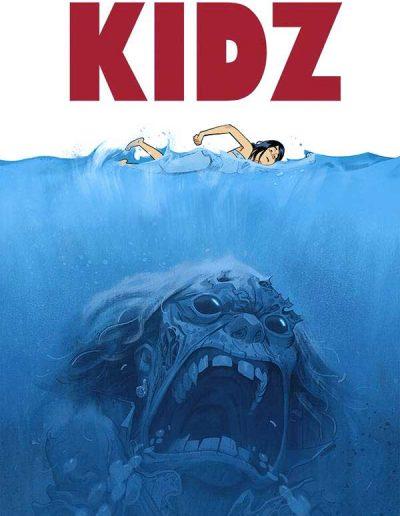 Kids #4 (Jocelyn Joret Variant) - July 2020