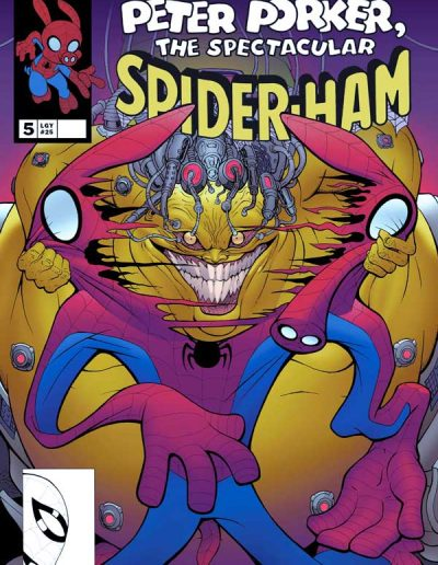 Spiderham #5 - August 2020