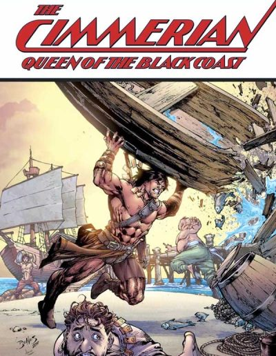 Cimmerian: Queen of the Black Coast #1 (Ed Benes Variant C) - March 2020