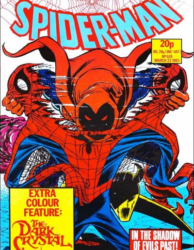Spiderman Comics Weekly (UK) #524 - March 1983