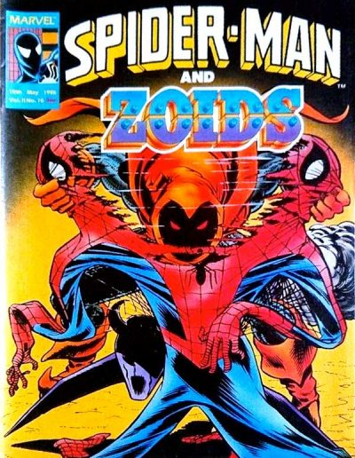 Spiderman and Zoids #10 - May 1986