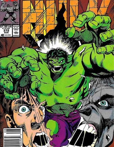 The Incredible Hulk #372 - August 1990