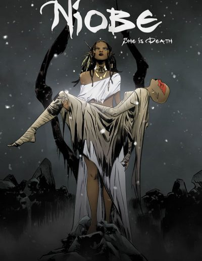 Niobe: She Is Death #4 (Jae Lee Trade Variant) - April 2020