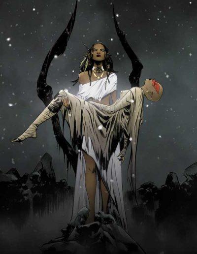 Niobe: She Is Death #4 (Jae Lee Virgin Incentive Variant) - April 2020