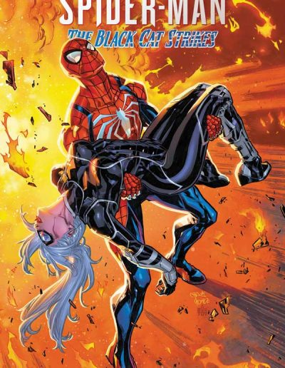 Spiderman: The Black Cat Strikes #4 (Incentive Carlos Gomez Variant) - October 2020