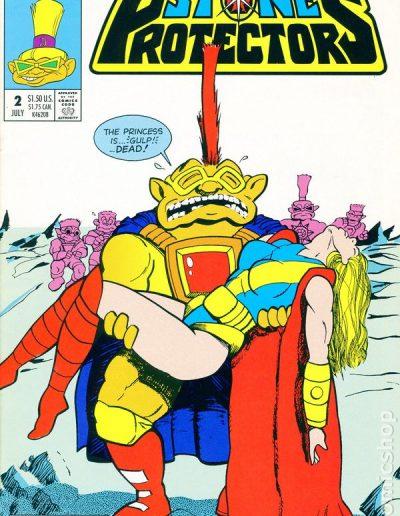 Stone Protectors (Vol 1) #2 - July 1994