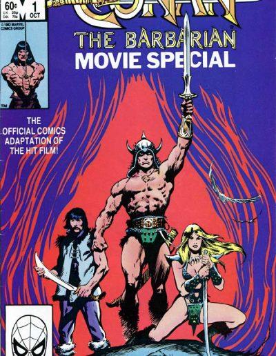 Conan the Barbarian Movie Special 1 - October 1982