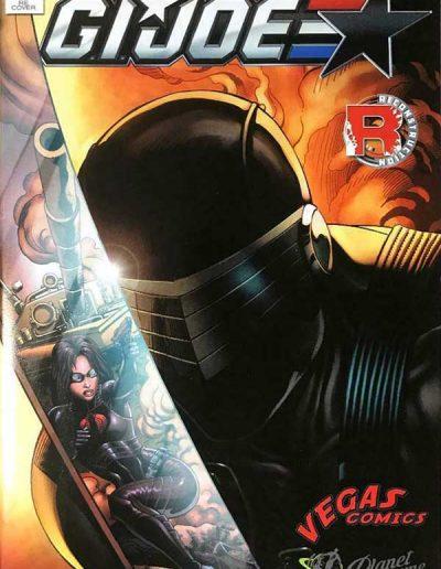 G.I. Joe (Vol 5) #1 (Vegas Comics/Planet Awesome Variant) - December 2016