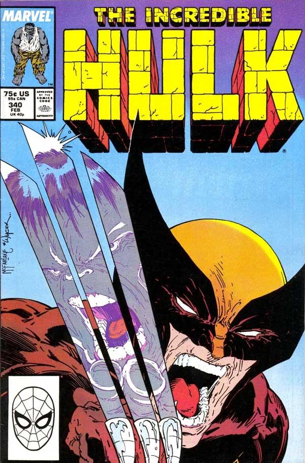 The Incredible Hulk #340 - February 1988