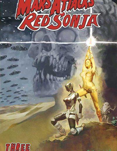 Mars Attacks Red Sonja #3 (Suydam Variant) - October 2020