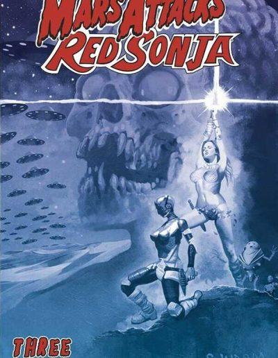Mars Attacks Red Sonja #3 (Suydam Tint Variant) - October 2020