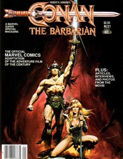 Marvel Super Special #21: Conan the Barbarian - August 1982