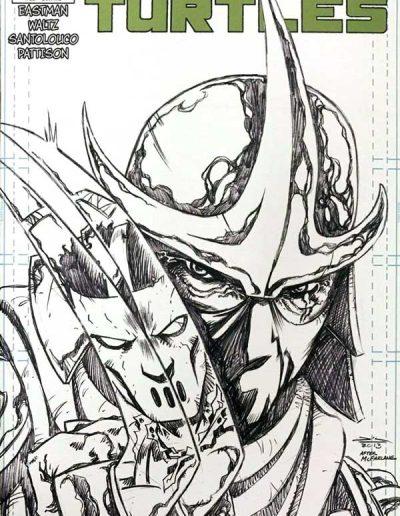 Teenage Mutant Ninja Turtles (Vol 6) #22 (Jetpack Sketch Variant) - May 2013