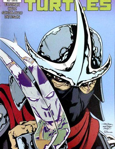 Teenage Mutant Ninja Turtles (Vol 6) #22 (Phantom Variant) - May 2013