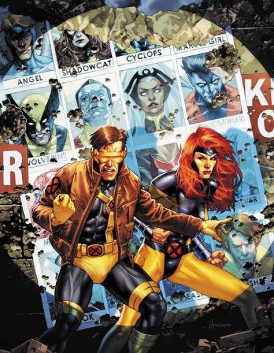 X-Men (Vol 5) #7 (Unknown Comics C2E2 Anacleto Virgin Variant) - April 2020