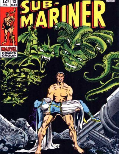 Sub-Mariner #13 - May 1969