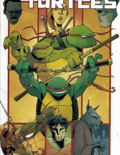 Teenage Mutant Ninja Turtles (Vol 6) #6 (Guillory Incentive Variant) - January 2012