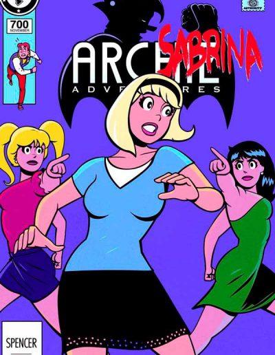 Archie #700 (Sabrina Variant) - November 2018
