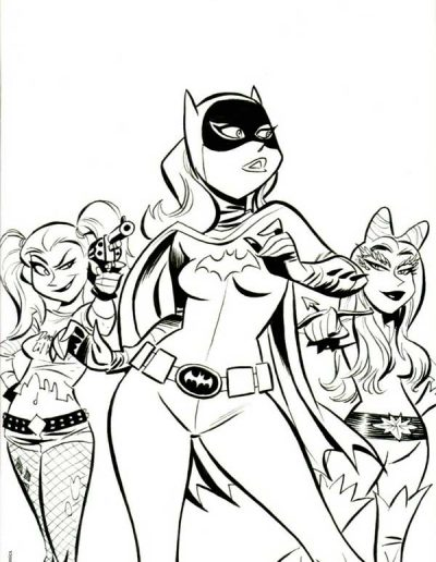 The Batman Adventures #12 (Fan Expo Canada Bruce Timm Sketch Virgin Variant) - 2016