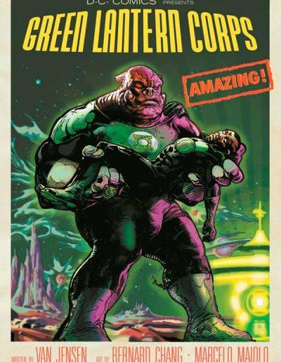 Green Lantern Corps (Vol 3) #40 (Forbidden Planet Variant) - May 2015