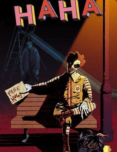 HaHa #1 (Megan Hutchinson Bird City Exclusive Variant) - January 2021