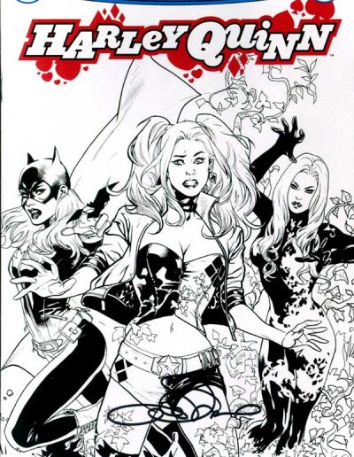 Harley Quinn (Vol 3) #1 (Lupacchino Zapp Comics Exclusive Sketch Variant) - October 2016