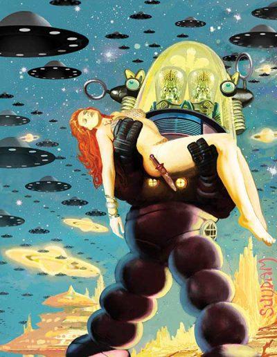 Mars Attacks Red Sonja #1 (Arthur Suydam Virgin Variant) - August 2020