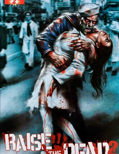 Raise the Dead 2 #2 (Lucio Parrillo Variant) - January 2011