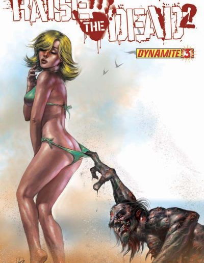 Raise the Dead II #3 (Lucio Parrillo Variant) - February 2011