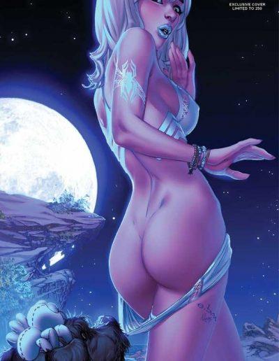 Widow's Web #3 (Moonlight Variant) - July 2016
