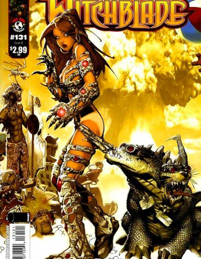 Witchblade #131 (Chris Bachalo Variant) - October 2009