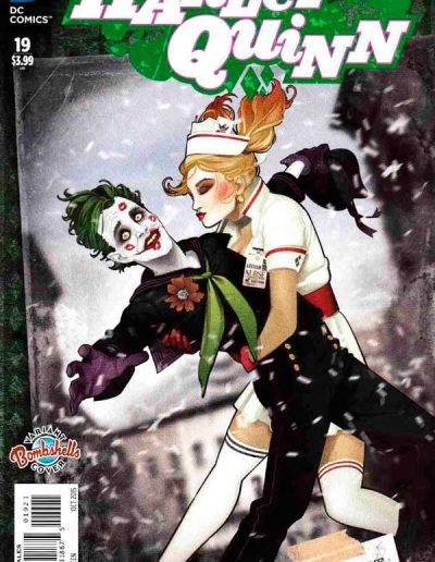 Harley Quinn (Vol 2) #19 (Bombshells Variant) - October 2015