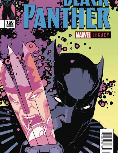 Black Panther (Vol 6) #166 (2nd Printing) - January 2018