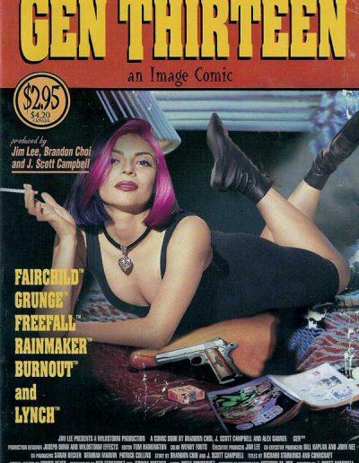 Gen 13 (Vol 2) #1 (Picto Fiction Variant) - March 1995