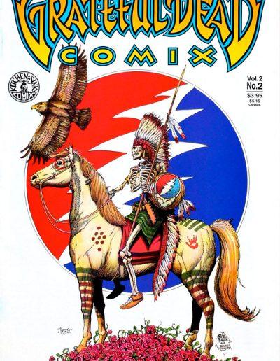 Grateful Dead Comix (Vol 2) #2 - April 1994