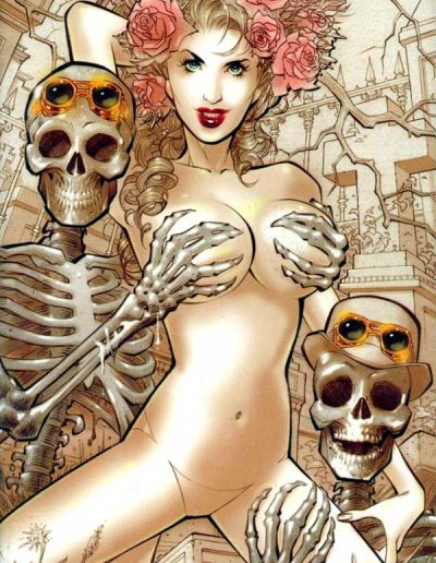 Grimm Fairy Tales 2012 Halloween Special (Steampunk Naughty Variant) - October 2012