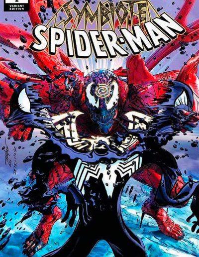 Absolute Carnage: Symbiote Spiderman #1 (Mike Mayhew Variant) - November 2019