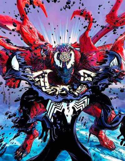Absolute Carnage: Symbiote Spiderman #1 (Mike Mayhew Virgin Variant) - November 2019