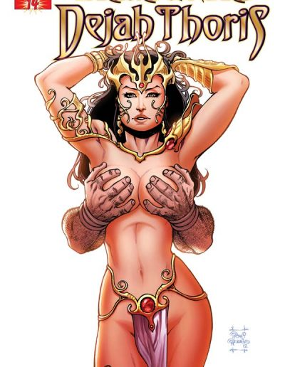 Warlord of Mars: Dejah Thoris #14 (Incentive Variant) - August 2012