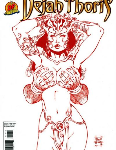 Warlord of Mars: Dejah Thoris #14 (Dark Forces Red Sketch Variant) - August 2012