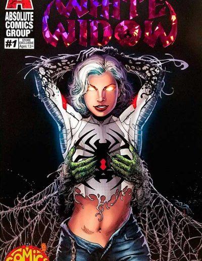 White Widow #1 (Three Alarm Comics Exclusive Variant) - January 2019