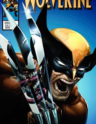 Wolverine (Vol 7) #8 (Clayton Crain Variant) - February 2021